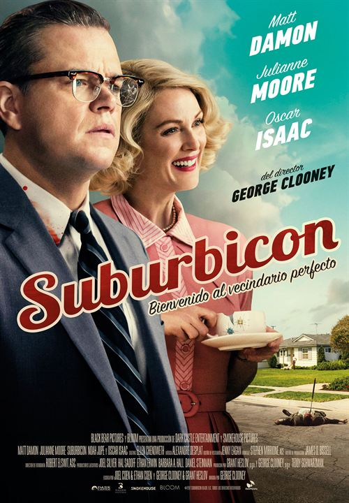 Suburbicon : Cartel