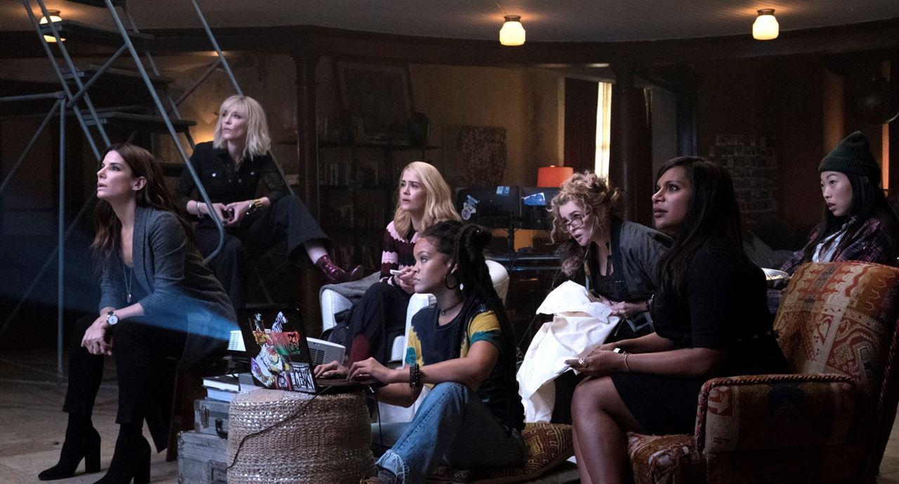 Ocean's 8 : Foto Awkwafina, Cate Blanchett, Helena Bonham Carter, Mindy Kaling, Rihanna