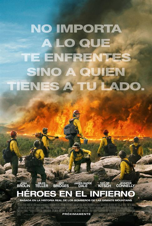 Héroes en el infierno : Cartel