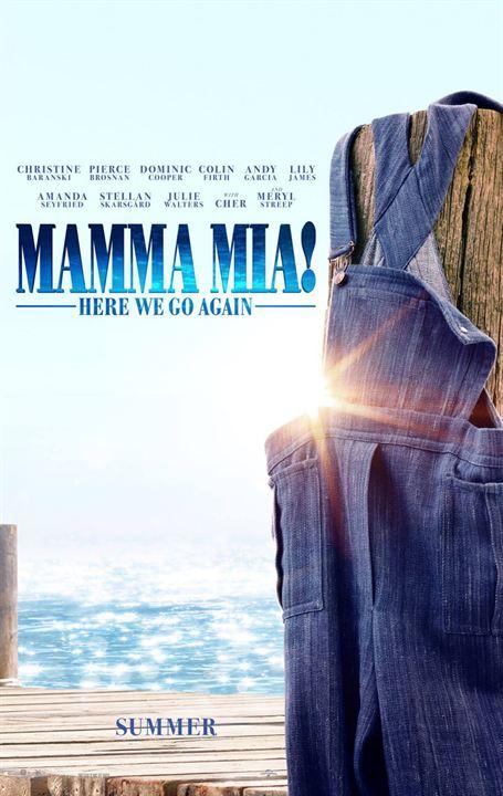 Mamma Mia! Una y otra vez : Cartel