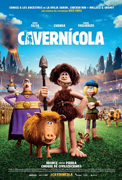 Cavernícola : Cartel