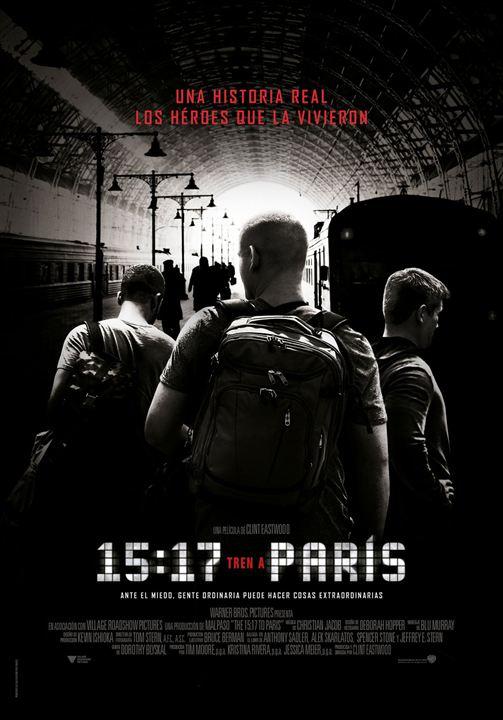 15.17 Tren a París : Cartel