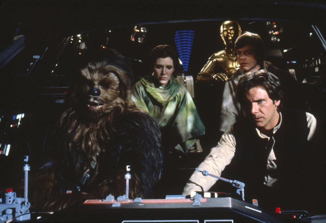 Star Wars: Episodio VI - El retorno del Jedi : Foto Carrie Fisher, Harrison Ford, Mark Hamill