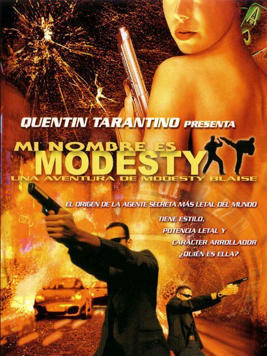 Mi nombre es Modesty: Una aventura de Modesty Blaise : Cartel