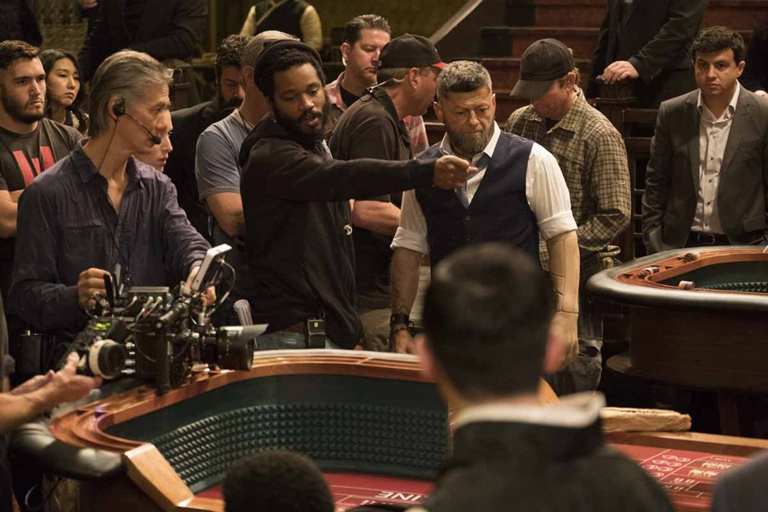 Black Panther : Foto Andy Serkis, Ryan Coogler