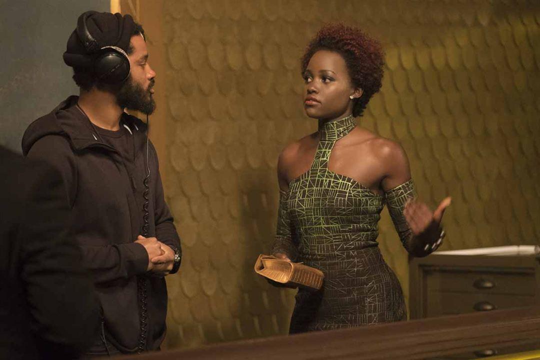 Black Panther : Foto Lupita Nyong'o, Ryan Coogler