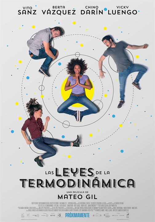 Las leyes de la termodinámica : Cartel