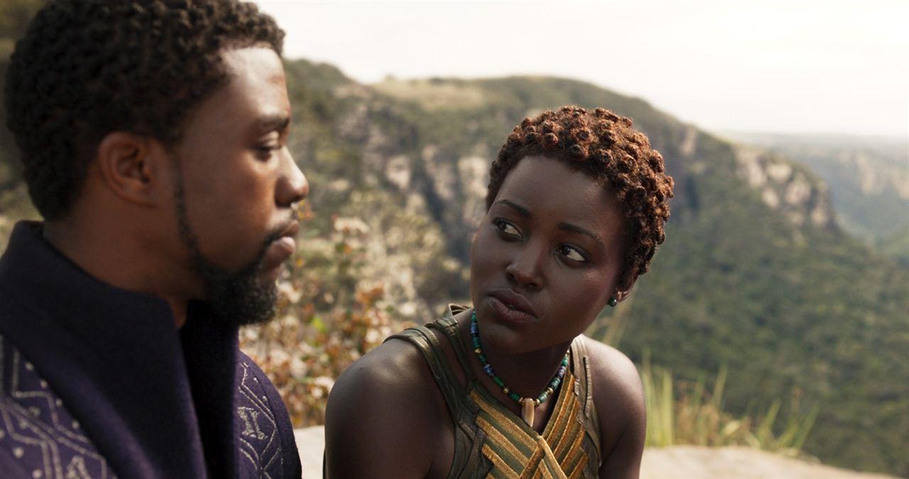 Black Panther : Foto Chadwick Boseman, Lupita Nyong'o