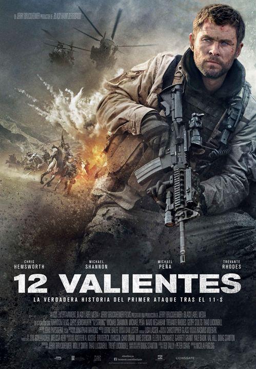 12 valientes : Cartel