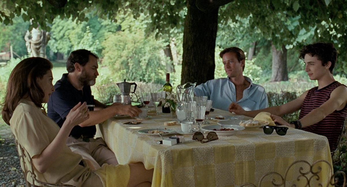 Call Me By Your Name : Foto Amira Casar, Armie Hammer, Michael Stuhlbarg, Timothée Chalamet