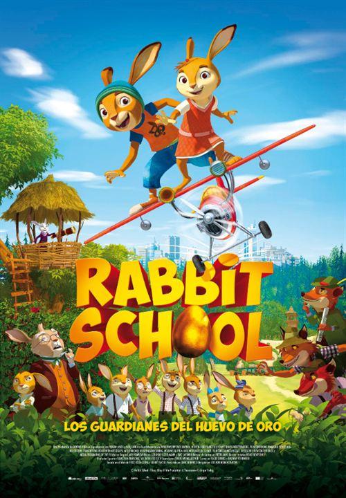 Rabbit School. Los guardianes del huevo de oro : Cartel