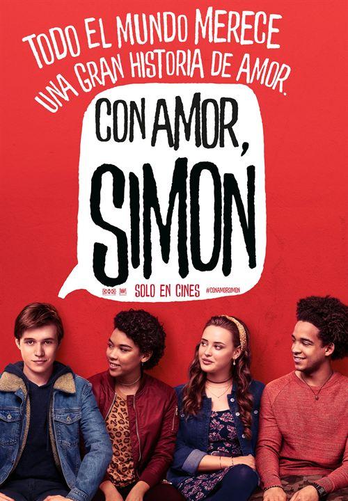 Con amor, Simon : Cartel