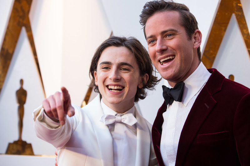 Call Me By Your Name : Couverture magazine Armie Hammer, Timothée Chalamet