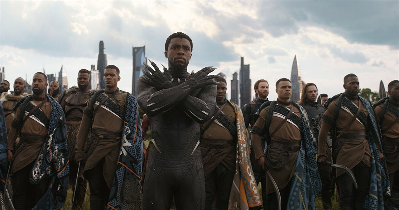 Vengadores: Infinity War : Foto Chadwick Boseman