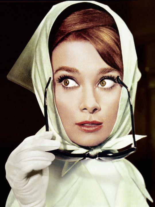 Charada : Foto Audrey Hepburn