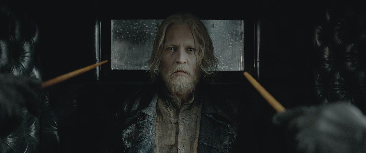 Animales fantásticos: Los Crímenes de Grindelwald : Foto Johnny Depp