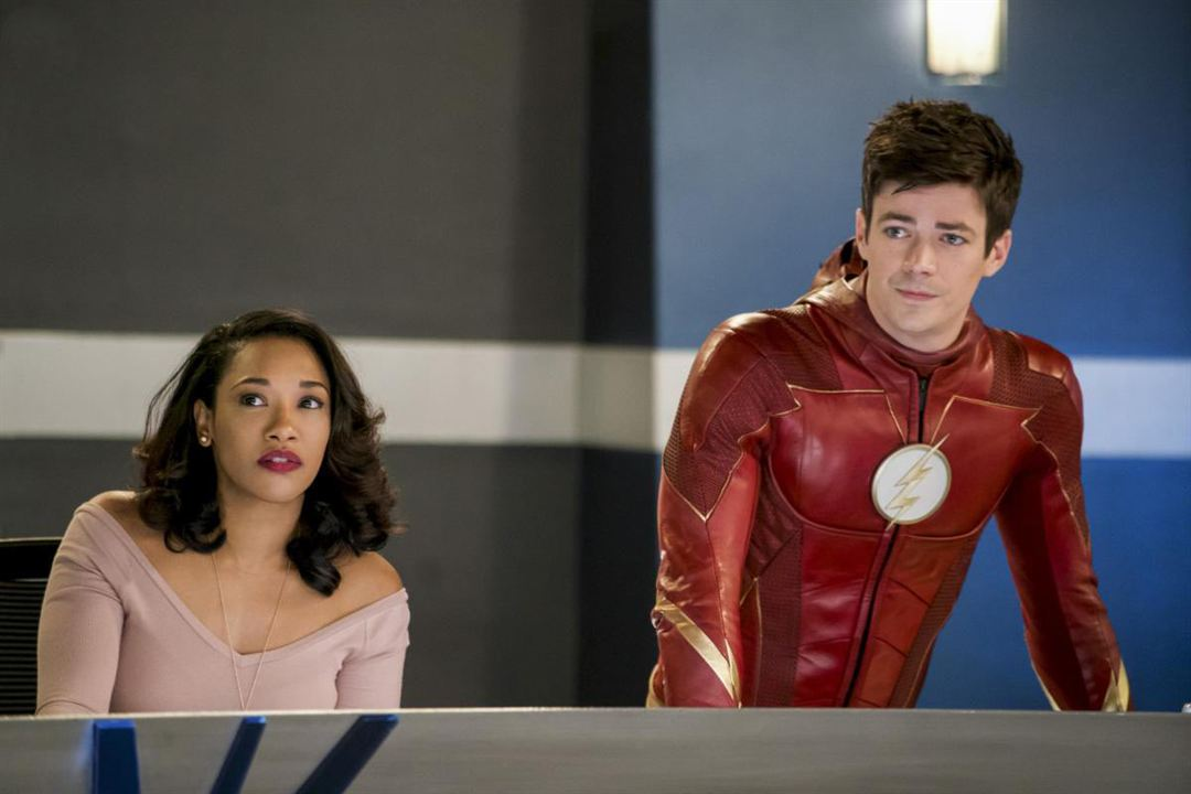 Foto Candice Patton, Grant Gustin