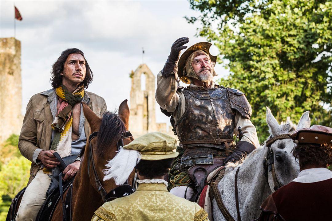 El hombre que mató a Don Quijote : Foto Adam Driver, Jonathan Pryce