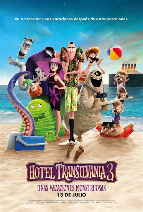 Hotel Transilvania 3: Unas vacaciones monstruosas - Cartel