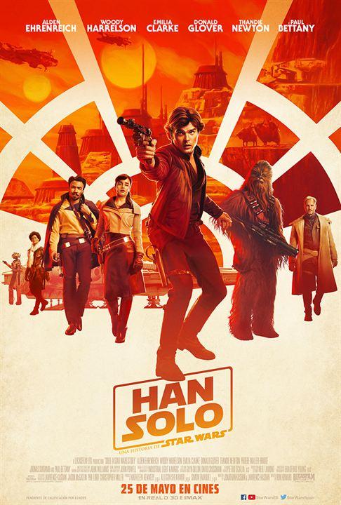 Han Solo: Una Historia de Star Wars : Cartel
