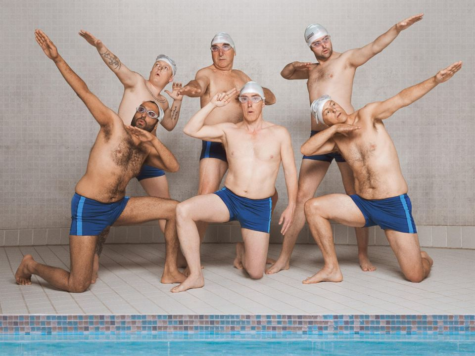 Swimming With Men : Foto Adeel Akhtar, Daniel Mays, Jim Carter, Rob Brydon, Rupert Graves