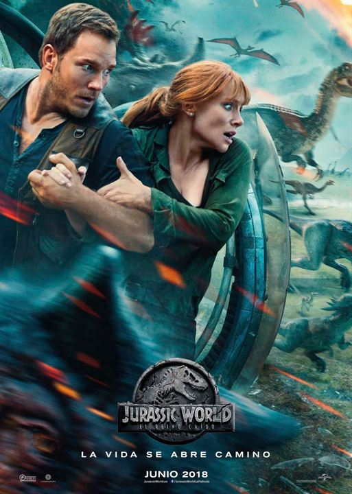 Jurassic World: El reino caído : Cartel