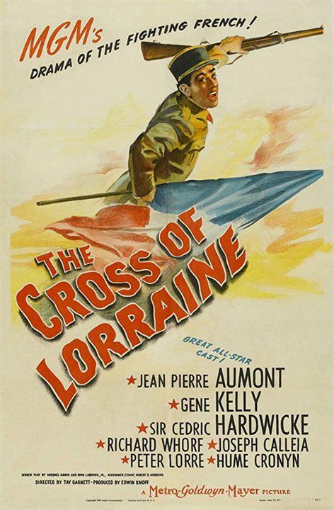 La cruz de Lorena : Cartel