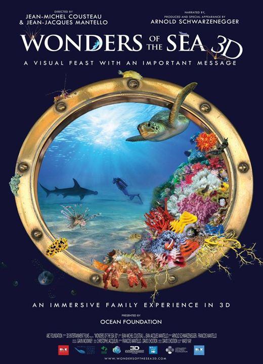 Las maravillas del mar : Cartel
