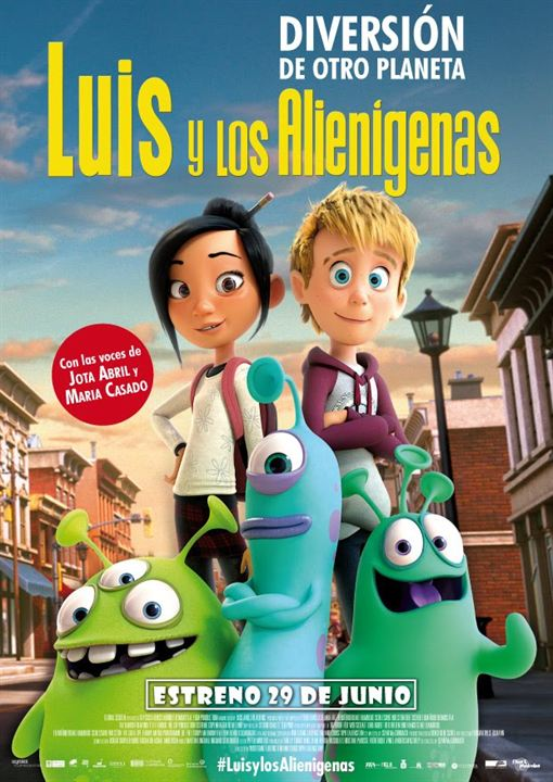 Luis y los alienígenas : Cartel