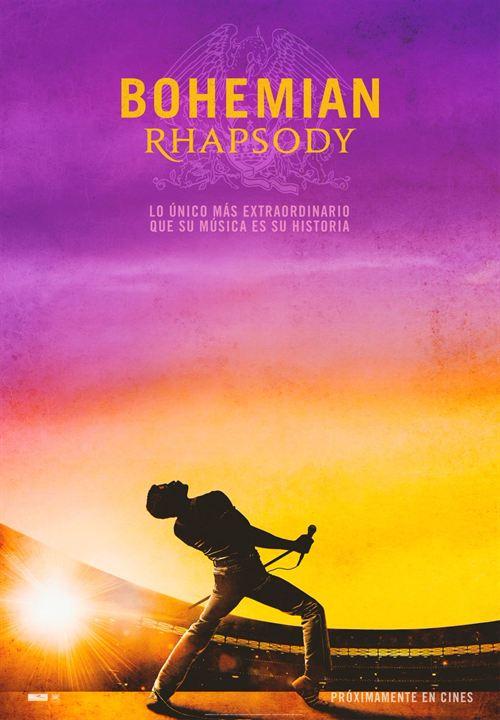 Resultado de imagen de bohemian rhapsody poster