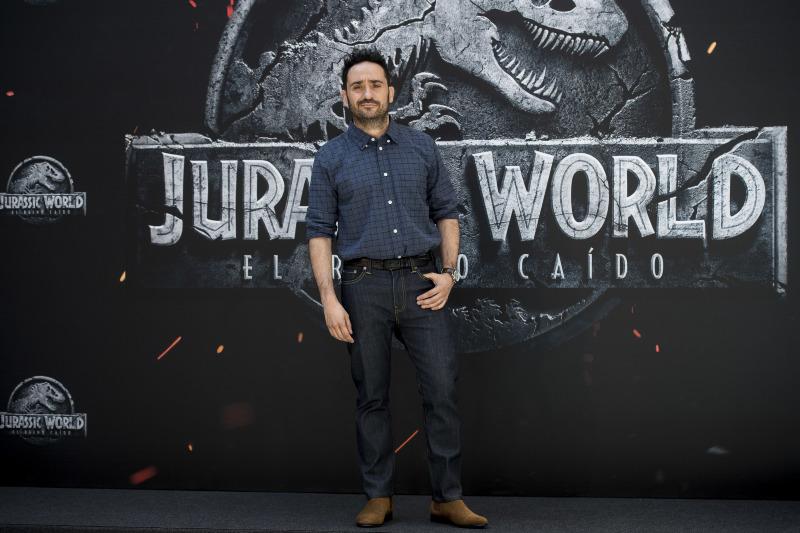 Jurassic World: El reino caído : Couverture magazine Juan Antonio Bayona