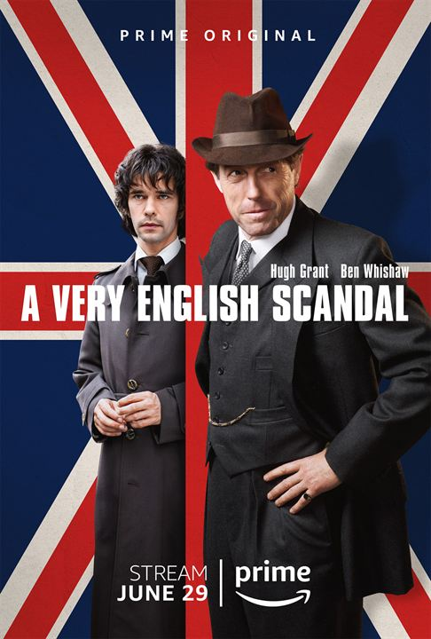 Un escándalo muy inglés : Cartel
