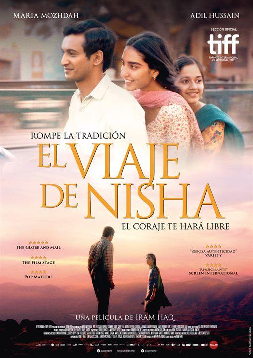 El viaje de Nisha : Cartel