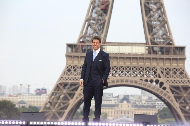 Misión: Imposible - Fallout : Couverture magazine Tom Cruise