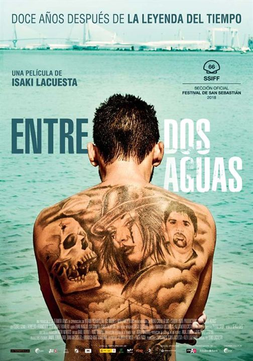 Entre dos Aguas (Between Two Waters) : Cartel