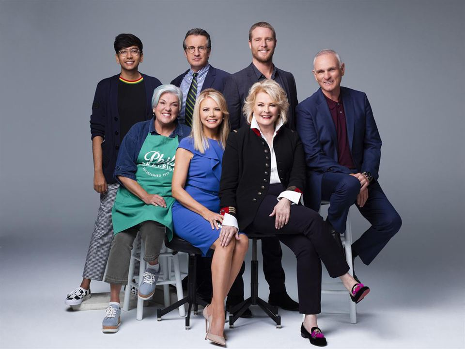 Foto Candice Bergen, Faith Ford, Grant Shaud, Jake McDorman, Joe Regalbuto