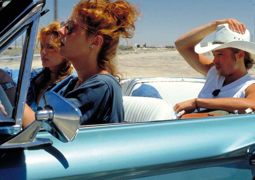 Thelma & Louise : Foto Brad Pitt, Geena Davis, Susan Sarandon