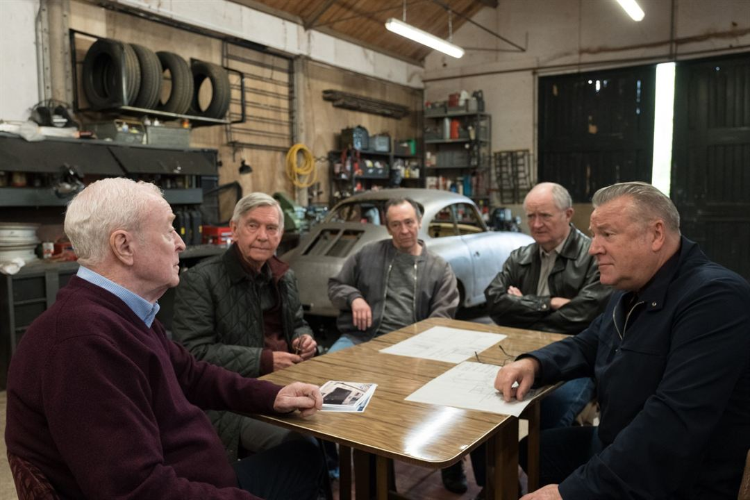 Rey de ladrones : Foto Jim Broadbent, Michael Caine, Paul Whitehouse, Ray Winstone, Tom Courtenay