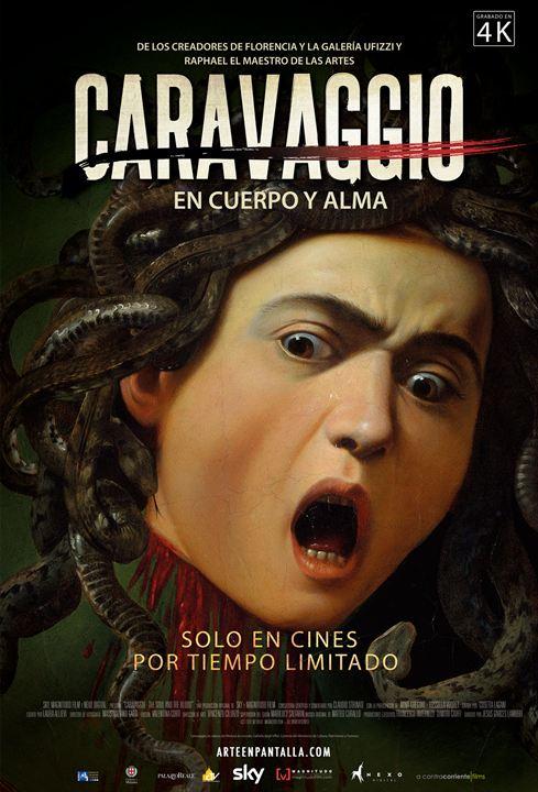 Caravaggio. En cuerpo y alma : Cartel