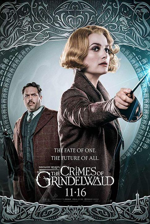 Animales fantásticos: Los Crímenes de Grindelwald : Cartel