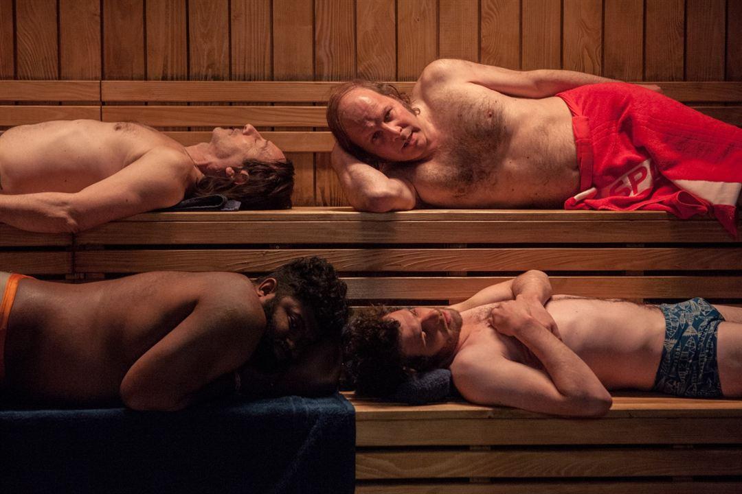 El gran baño : Foto Félix Moati, Jean-Hugues Anglade, Philippe Katerine