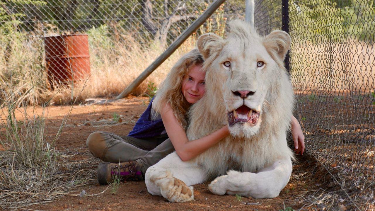 Mia y el león blanco : Foto