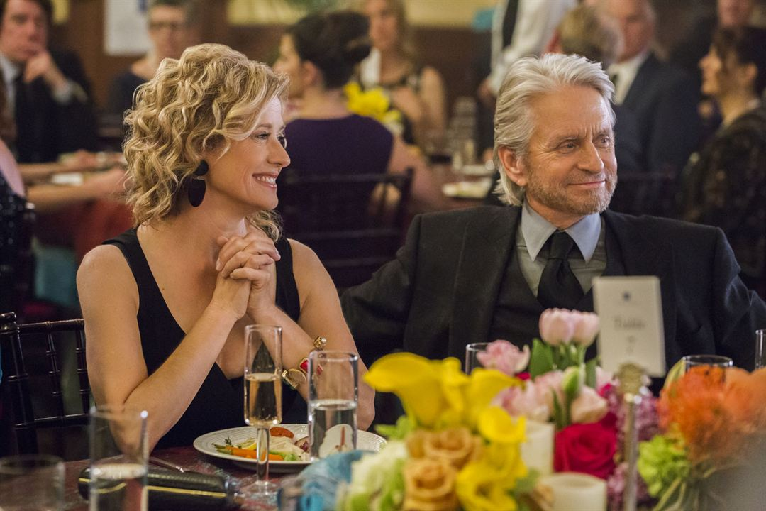 Foto Michael Douglas, Nancy Travis