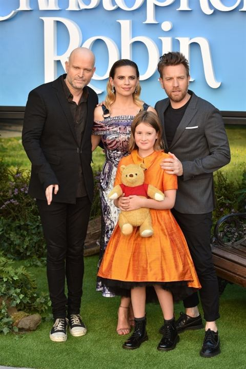 Christopher Robin : Couverture magazine Bronte Carmichael, Ewan McGregor, Hayley Atwell, Marc Forster