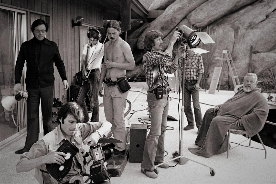 Me amarán cuando esté muerto : Foto Orson Welles, Peter Bogdanovich