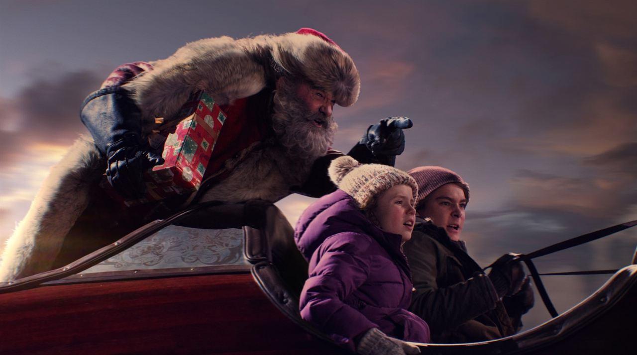 Crónicas de Navidad : Foto Darby Camp, Judah Lewis, Kurt Russell