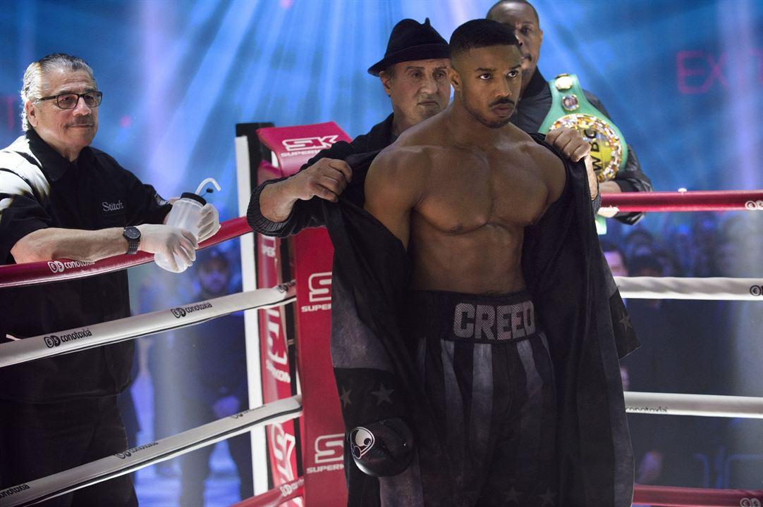 Creed II: La leyenda de Rocky : Foto Michael B. Jordan, Sylvester Stallone