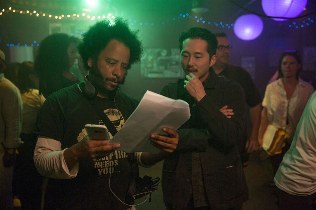 Sorry To Bother You : Foto Boots Riley, Steven Yeun