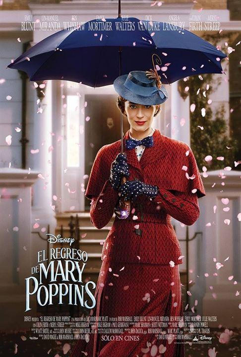 El regreso de Mary Poppins : Cartel