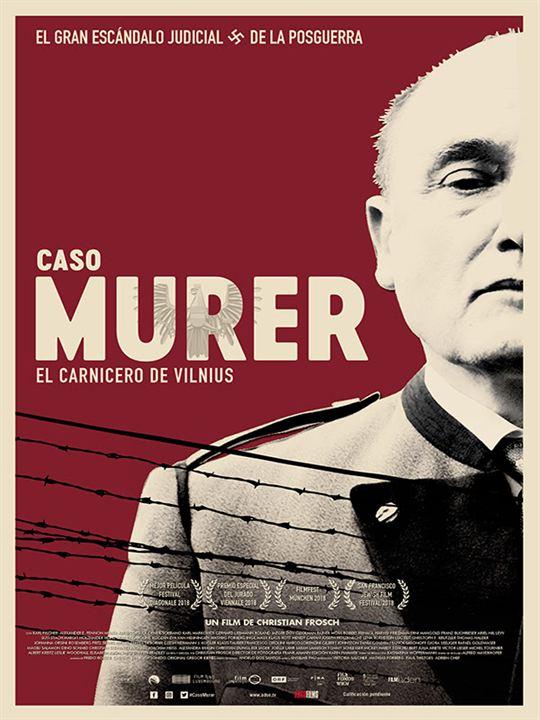 Caso Murer: El carnicero de Vilnius : Cartel